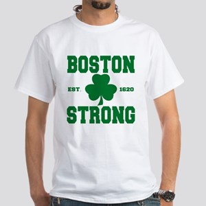 Boston Strong White T-Shirt